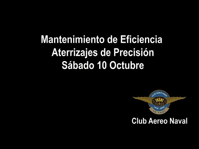 Vuelos de Mantención de eficiencia y Aterrizajes de Precisión