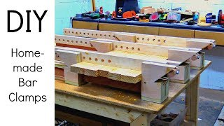 Incredible Homemade Bar Clamps | Diy Woodworking Project