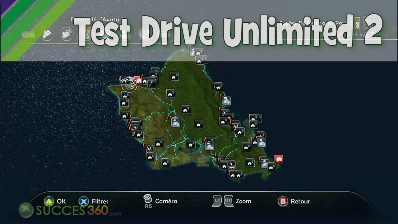 Test Drive Unlimited 2 Emplacement Des Carcasses Hawaï