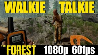 Walkie talkie fun - The Forest - Yolo Letsplay - Part 25 (Online Special)