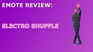 Electro Shuffle Emote Review + Dance Showcase! ~ Fortnite Battle Royale
