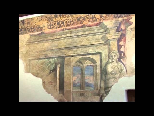 Gambatesa- CB -  Castello di Capua: gli affreschi