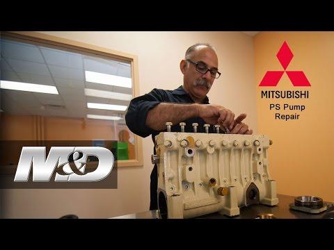 Mitsubishi PS  Diesel Fuel Injection Pump Repair