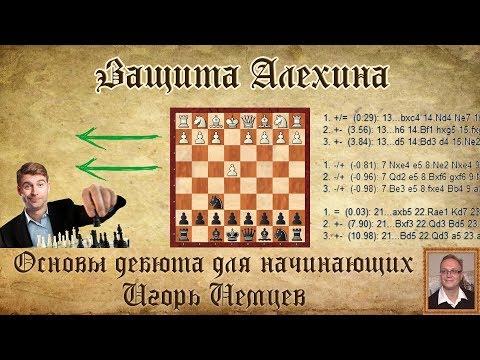 Защита алехина шахматы видео уроки