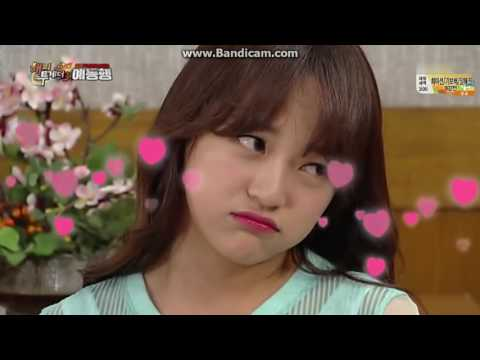 Gugudan Sejeong Aegyo (Happy Together 20160811)