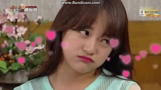 gugudan sejeong aegyo happy together 20160811