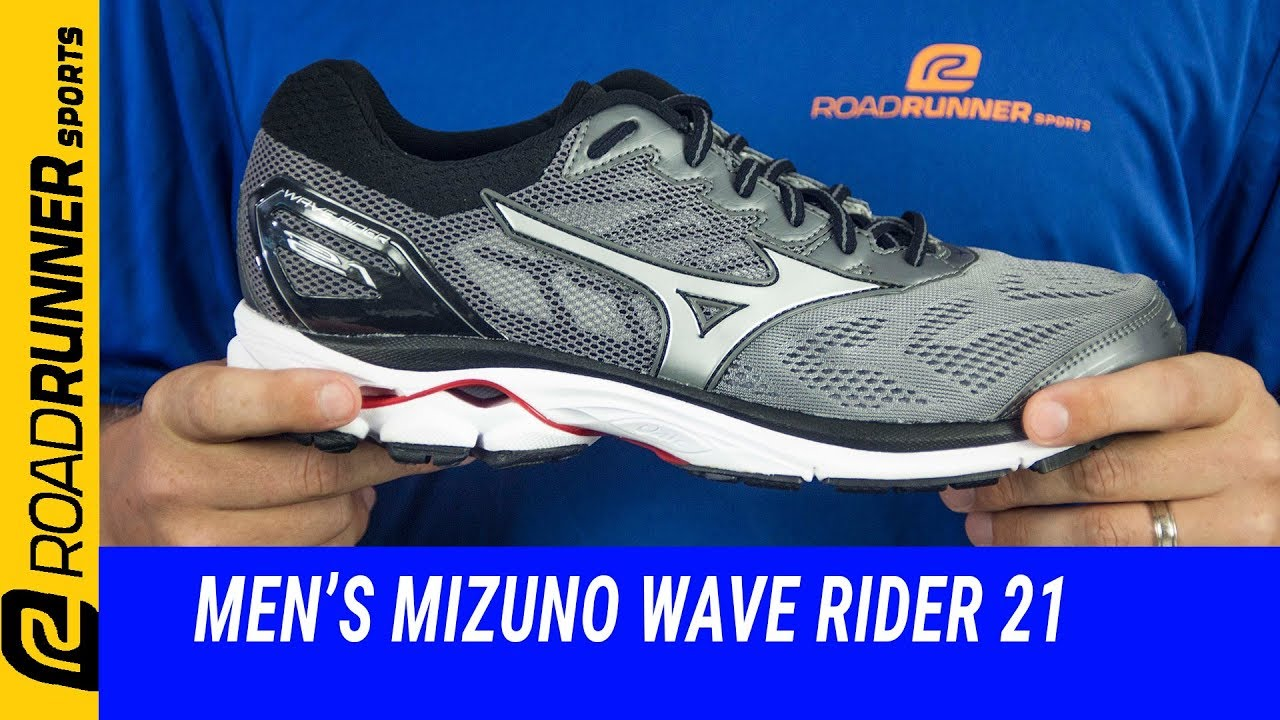 5d6be2000af4 Men's Mizuno Wave Rider 21 | Fit Expert Review - YouTube