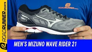 Men's Mizuno Wave Rider 21 | Fit Expert Review