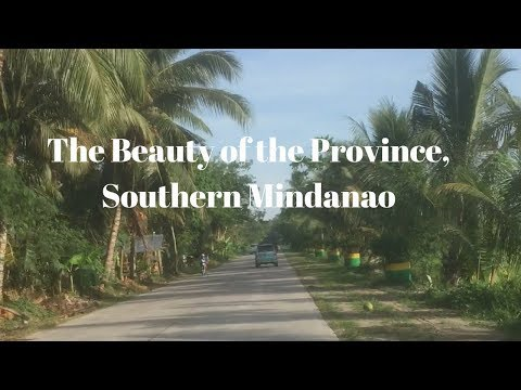 A Ride Down a Beautiful Province Road, Cotabato, Southern Mindanao, Philippines
