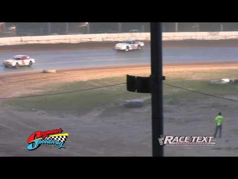 Seymour Speedway - 8-10-2014 - IMCA Stock Car feature 1080