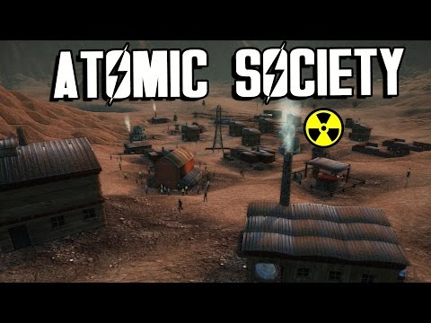 Fallout Meets Kingdoms and Castles (Atomic Society Gameplay Part 1)