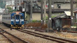 [HD] The Taiwan TRA up Local Train No. 2468 (Changhua To Miaoli) EMU 500 at Sanyi Station