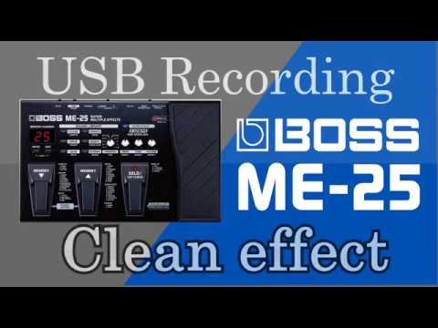 Clean effect Boss me-25