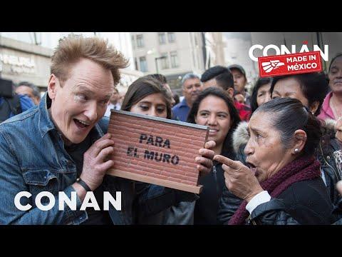 #ConanMexico Preview: Conan's Border Wall Pledge Drive