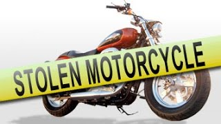GPS Tracker Catches Motorcyle Thief
