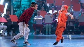 «B-Boy Малыш Ник» vs «B-Girl Narumi». Категория «Ритм улиц». «Лига удивительных людей»
