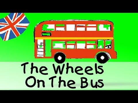 The Wheels On The Bus - englische Kindergarten Lieder || Kinderlieder