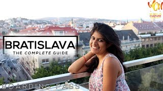 Bratislava City Travel | Boarding Pass | ft. Parampara Patil Hashmi | World Culture Network