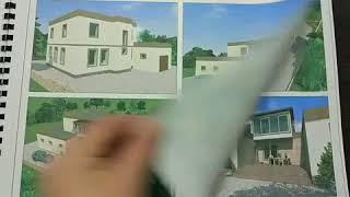 Проект двух этажного дома в с. Суп-Сех