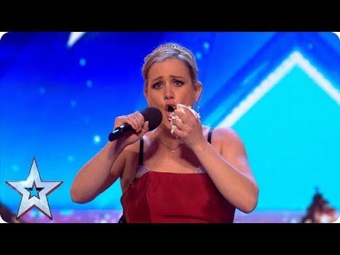 Meet Sarah: A flexible cake-eating opera singer! | Auditions | BGT 2018