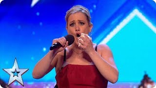 Meet Sarah: A flexible cake-eating opera singer! | Auditions | BGT 2018