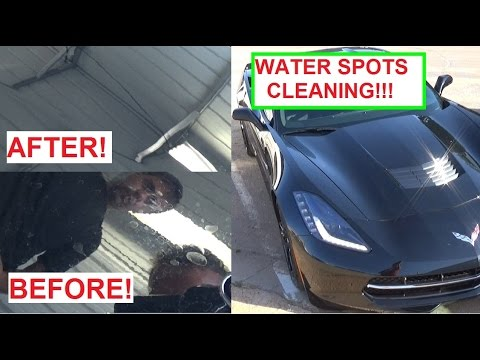 Best Hard Water Stain Remover For Cars