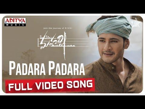 Padara Padara Full Video Song  || Maharshi Songs || MaheshBabu, PoojaHegde || VamshiPaidipally