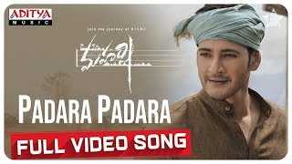 Padara Padara Full Video Song  || Maharshi Songs || MaheshBabu, PoojaHegde || VamshiPaidipally