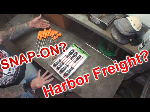 Harbor Freight - vs.- SNAP ON -- We're Getting SCREWED
