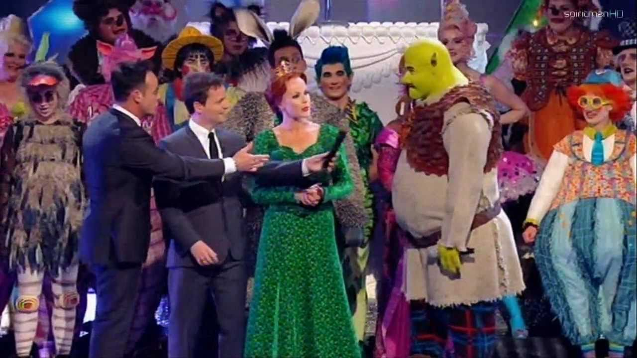 The Cast of Shrek The Musical (feat. Amanda Holden ...