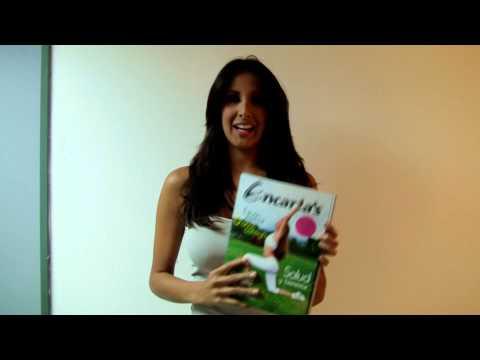 Saludos de Yuvanna Montalvo para Revista Encartas