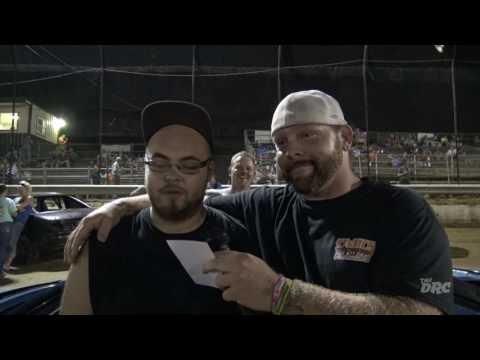 Moler Raceway Park | 8.5.16 | Fan Night | Bubba Gibson