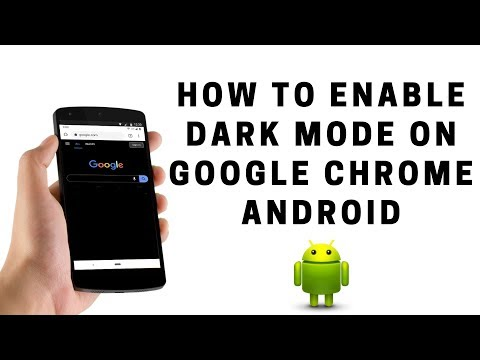 How To Enable Dark Mode On Google Chrome Android
