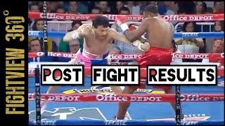 Chavez Jr RETURNS! KO'S Bravo In 1! Chavez Jr vs Bravo Post Fight Results & HIGHLIGHTS!