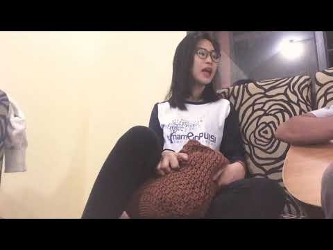 "LAGU JAUH KAU PERGI - Gaby (cover) ""Realitanya gini"""