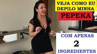 vuclip DEPILAÇÃO COM CERA CASEIRA!!!PARA REGIÃO INTIMA,VIRILHA-BARATA E FÁCIL!!!APENAS COM 2 INGREDIENTES.