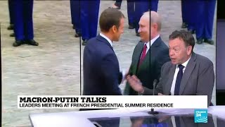 """Macron-Putin talks """"are an opportunity for Russia to have an input on G7 discussions"""""""