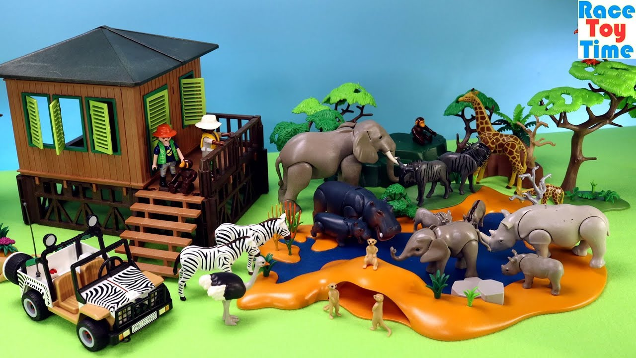 Playmobil African Safari Theme Fun Animals Toys For Kids