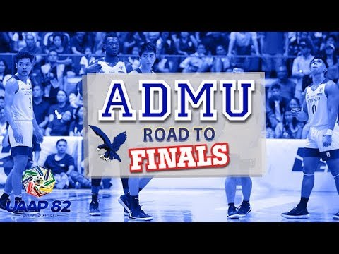 Ateneo Blue Eagles' Road to Finals | UAAP 82 MB
