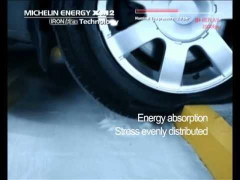 Michelin XM2 Test - Pothole Resistant Tyres