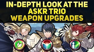 In-Depth Look at the Askr Trio Weapon Upgrades (Upgraded Folkvangr, Fensalir, & Noatun Review)
