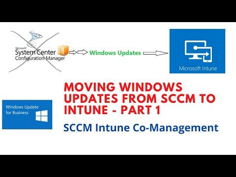 Moving Windows Updates