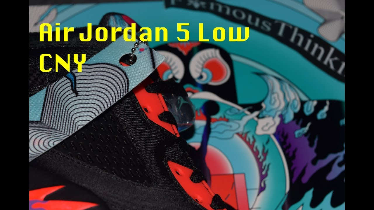 0f8e6a0aee93 Air Jordan 5 Low Chinese New Year  CNY
