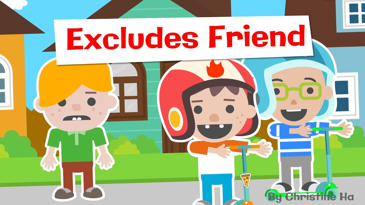 Don't Exclude Your Friend, Roys Bedoys! - Read Aloud Children's Books