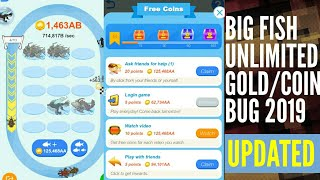 New Update Unlimited Gold Bug! 2019! Big Fish/Fish Bang Messenger Game!