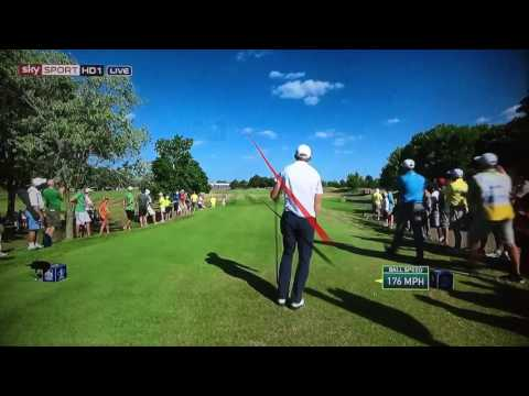 Golf TrackMan Tracer Compilation - RBC Canadian Open 2016.