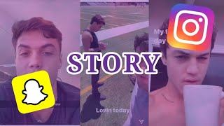 Dolan twins Snapchat and Instagram stories 3.- 9. August