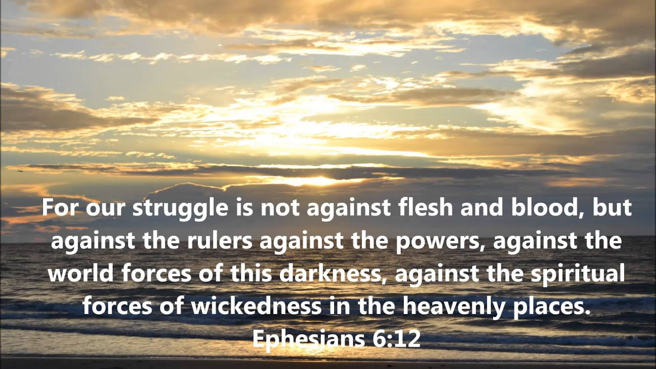 Image result for ephesians 6 12