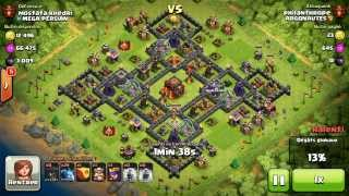 BM026 Balloons and Minions Strategy against champion level opponent - Clash of Clans CoC