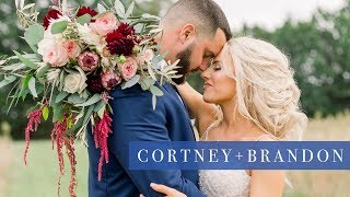 Cortney & Brandon's Wedding Film | Sony a7iii
